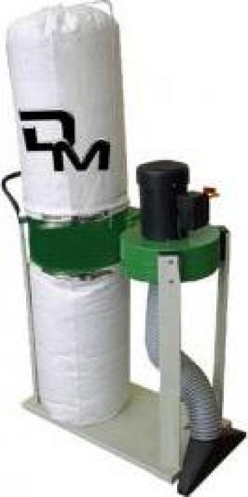 Aspirator exhaustor de rumegus DM 2 de la Infomark Srl.
