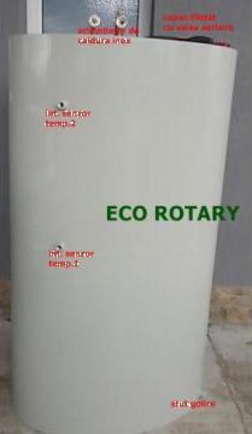 Boilere, puffere ovale 2000 litri cu o serpentina de la Eco Rotary SRL