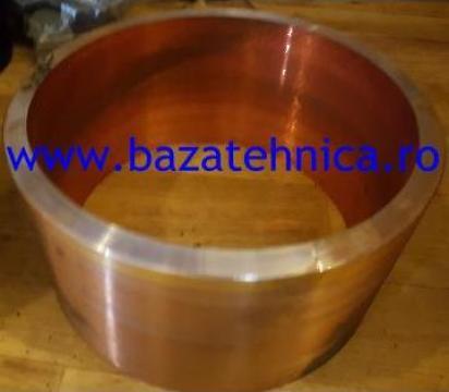 Bucsa de cupru fi 205 X fi 185 X h 105 mm de la Baza Tehnica Alfa Srl