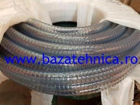 Furtun din PVC cu insertie metalica fi 20 mm, rola 30 m de la Baza Tehnica Alfa Srl