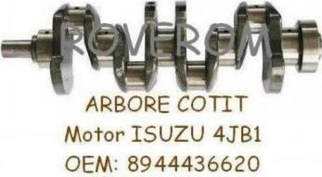 Arbore cotit motor Isuzu 4JB1, Bobcat 843, 853, Kobelco SK60