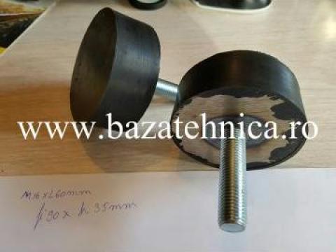 Tampon suport troliu lift fi 90 x h 35 de la Baza Tehnica Alfa Srl