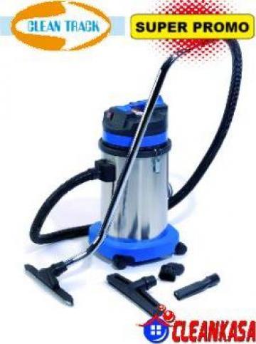 Aspirator industrial CleanTrack 30-1-STBL de la CleanKasa