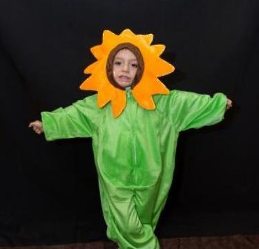 Inchiriere costum baiat Floare galbena, floarea soarelui 134 de la Sabine Decor Shop Srl-d