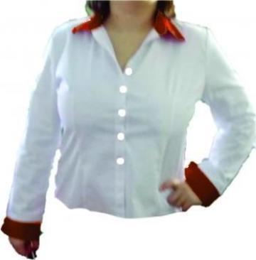 Camasi de dama albe, uni