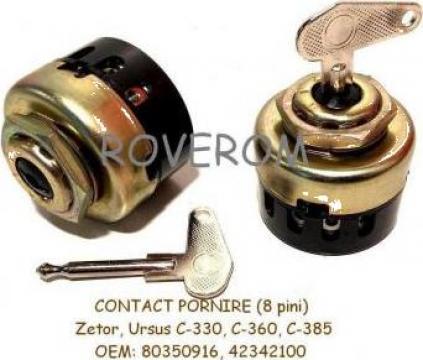 Contact pornire Zetor, Ursus C-330, C-360 (8 pini)