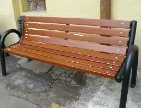 Banci pentru parcuri de la Sc Metal Ilinca Srl