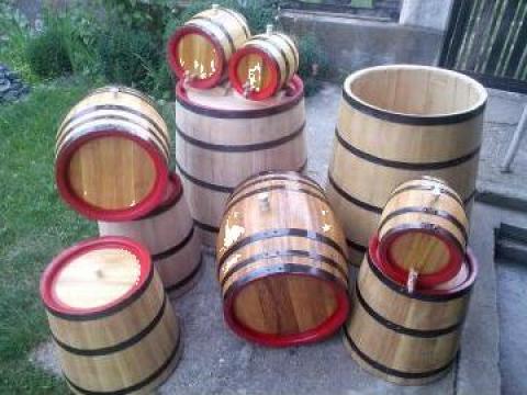 Butoaie din lemn de dud, salcam si stejar de la PFA Tanase Victor