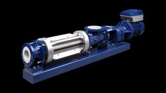Pompa cu surub Seepex Smart Conveying Technology de la Sonnek Engineering Srl