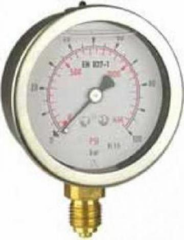 Manometru antivibrator D700 de la Nascom Invest