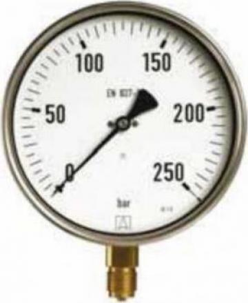 Manometru industrial D400 de la Nascom Invest