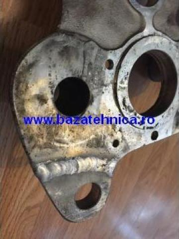 Sudura aluminiu in argon de la Baza Tehnica Alfa Srl