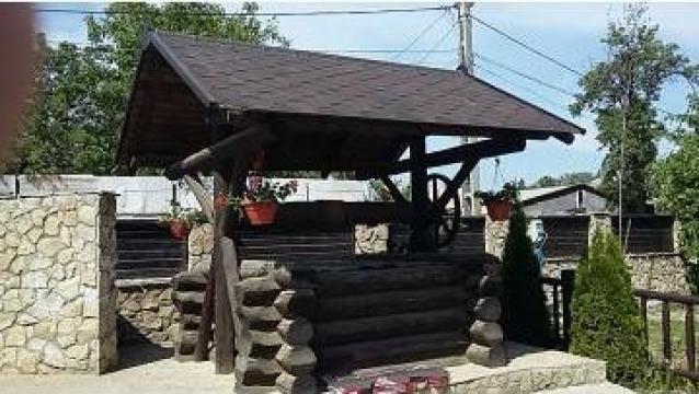 Mobilier gradina Dizdele Mitoc de la Log Homes S.r.l.