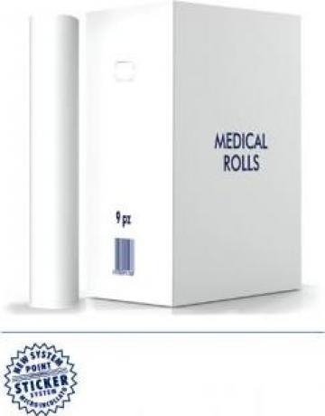 Cearceaf hartie pentru uz medical rola 50cm x 50m