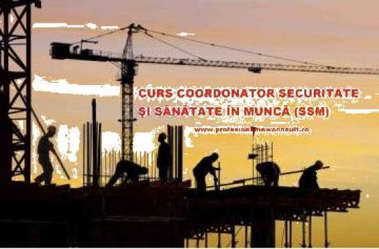 Curs Coordonator in Securitate si Sanatate in Munca de la Profesional New Consult
