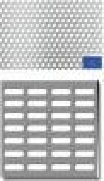 Tabla perforata(sita) de la Electroterm Ind Srl