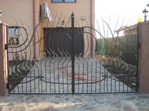 Poarta fier forjat PO062 de la Vietta Srl
