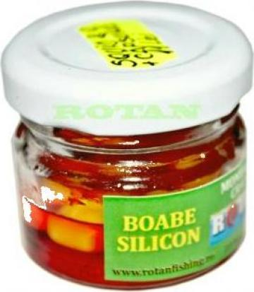 Boabe silicon in arome concentrate