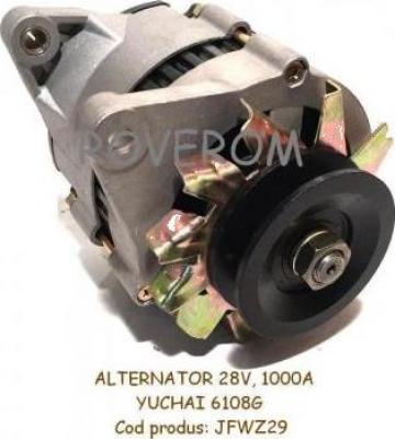 Alternator Yuchai 6108G, XCMG ZL30F, YTO LT214, JFWZ29