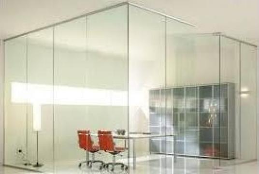 Compartimentare sticla securizata de la Gamaterm Design