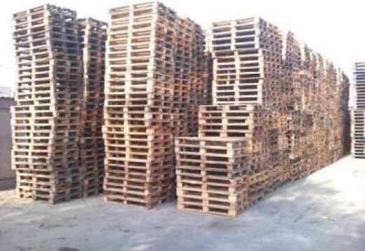 Paleti folositi 1200 x 800 x 1400 mm de la West Pallets
