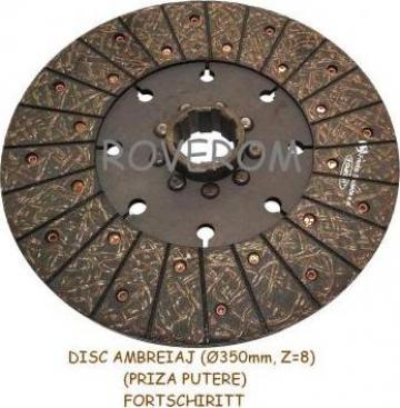Disc ambreiaj priza putere Fortschiritt (350mm, Z=8)