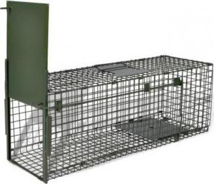 Capcana pentru animale cu 1 intrare 80 x 25 x 25 cm de la Vidaxl