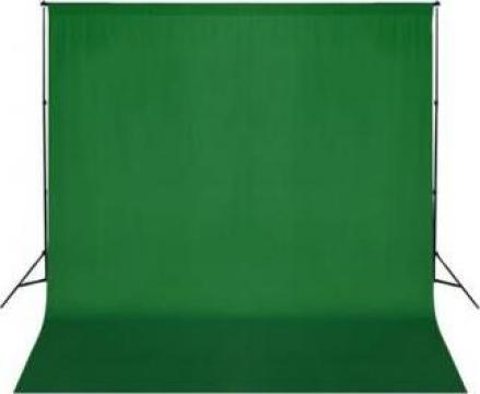 Fundal verde 300 x 300 cm chroma key