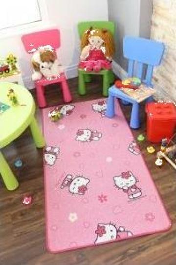 Covor copii Hello Kitty de la Mocheta Gilau - Sc Dancri Impex Srl