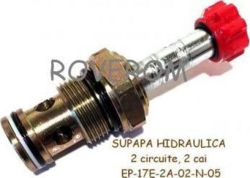 Supapa hidraulica Winner EP17E2A02N05 de la Roverom Srl