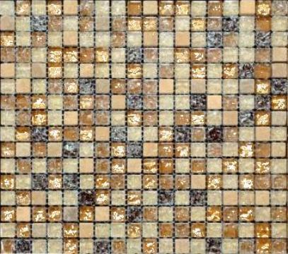Mozaic din sticla si piatra MMX010