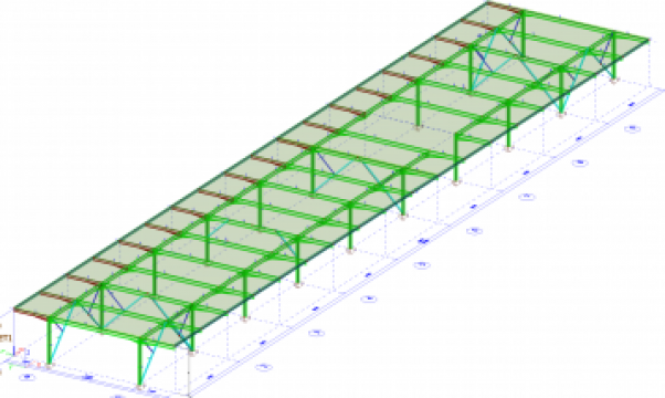 Proiectare mezanin metalic de la Contrust