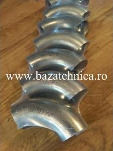 Coturi din inox 40x1.5 mm de la Baza Tehnica Alfa Srl