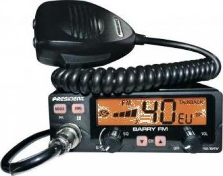 Statie radio President Barry 12v-24v putere 4w de la Electro Supermax Srl