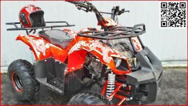 ATV 125cc 2WD Hummer 3 M7'' automatic cu revers D-N-R de la Bemiro Mania Srl