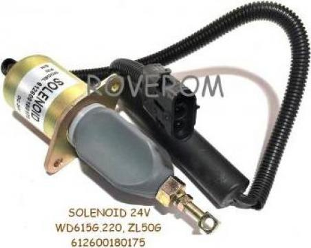 Solenoid 24V, WD615G.220, XCMG ZL50G, YTO ZL50F de la Roverom Srl