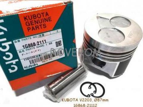 Piston kit Kubota V2203, V2403, Bobcat, Hyundai, Case