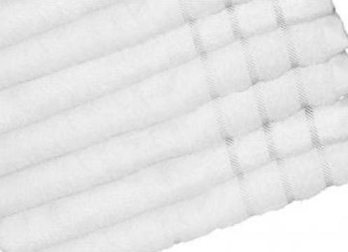 Set prosoape albe sau color bumbac 100% Pakistan de la Sc B05 Vwd Comexim Srl