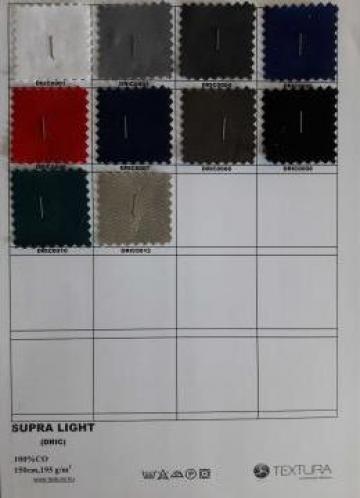 Tesatura doc bumbac 100% 195 gr/mp de la Textura Ro Srl