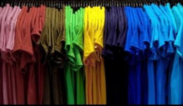 Tricouri colorate bumbac