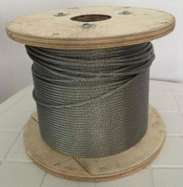 Cablu tractiune inox de la Kinetech Distribution Srl