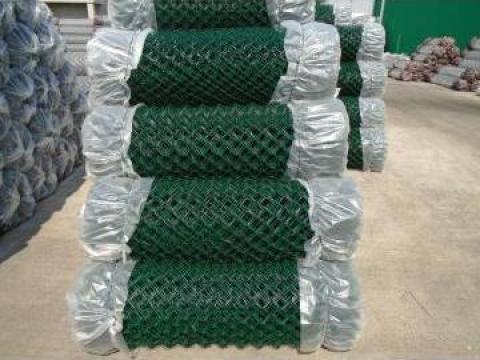 Plasa gard impletita plastifiata de la Sc Ibmar Lasak Srl