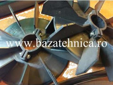 Ventilator motor electric ax 28 mm, diametru exterior 183 mm de la Baza Tehnica Alfa Srl