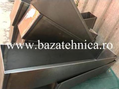 Tava cozonac tabla 800x170x200 mm de la Baza Tehnica Alfa Srl