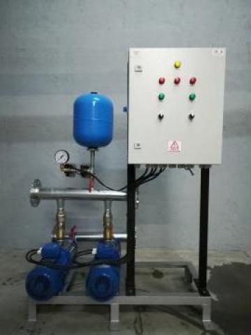 Grup de pompare hidranti, 2 x 15 mch, 50 mCA de la Master Engineering Srl