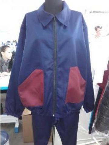 Bluza salopeta in doua culori