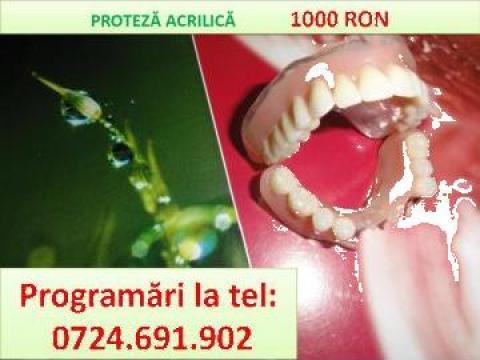Proteze dentare maxilare sau mandibulare de la Iuliadent - Medicina Dentara