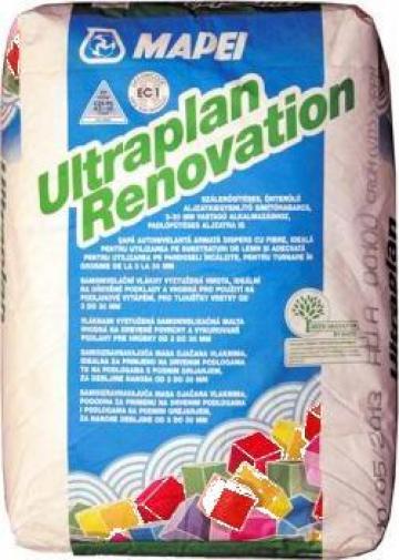 Sapa autonivelanta pe baza de ciment Ultraplan Renovation