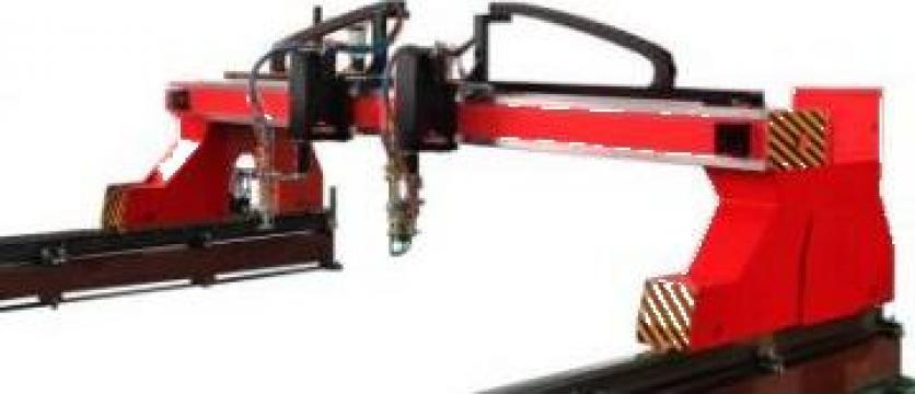 Masa CNC de debitare cu plasma Dual Cut de la Bendis Welding Equipment Srl