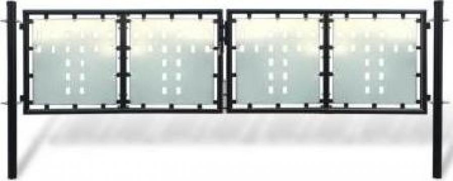 Poarta dubla 300 x 125 cm